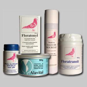 pack elevage 5 produits elevage produits de compl ments et vitamines pour les pigeons et. Black Bedroom Furniture Sets. Home Design Ideas